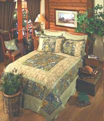 Mossy Oak Patchwork Quilted Bedding: Cabin Place & Mossy Oak Patchwork Quilted Bedding Adamdwight.com