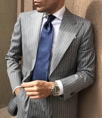 Light Grey Pinstripe Suit Combinations Manhattan Light Grey Pinstripe Suit In 2020 Grey Pinstripe