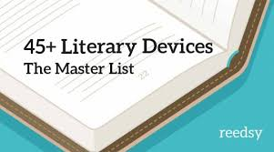 literary devices and terms every writer