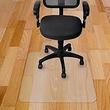 pvc home office chair floor. Amazon.com : Kuyal Chair Mat, 2MM Rolling Mat For Hardwood Floor, Transparent PVC Home Office Floor Protector (36\ Pvc