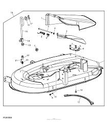 John deere parts diagrams john deere l111 lawn tractor with 42 in