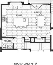 Kitchen Layout With Island L Shaped Kitchen Floor Plans With Island Design Awesome 11588
