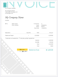 how to create a professional invoice sample invoice templates lance invoice template