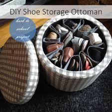 Shoe Storage Ottoman Diy Shoe Storage Ottoman Goodwill Of Orange County Blog