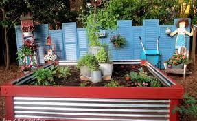 unique diy raised garden bed ideas
