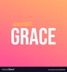 Amazing Grace Life Quote With Modern Background