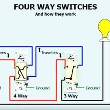 4 way light wire diagram wiring diagram data light switch wiring diagram with outlet four way switch wiring diagrams one light wiring diagram data 4 way light switch diagram 4
