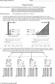 Energy Bar Charts Physics Work Energy Bar Charts Pdf Free Download