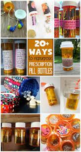 Prescription Pill Bottles: 20+ ways to use empty pill bottles