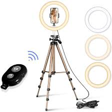 Big Ring Light With Stand Led Selfie Ring Light With Stand And Remote Big Led Camera Light With Mix Light Led Circle Light For Youtube Video Live Stream Makeup