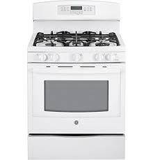 ge profile range. Brilliant Range GE PGB920DEFWW Profile 30u0026quot White Gas Sealed Burner Range  Convection On Ge L