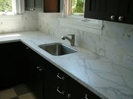 Marble Tile Backsplash Kitchen Kitchen Outstanding Marble Tile Backsplash Nice Countertop Black