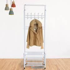 Coat Stand And Shoe Rack Metal 100 Hook Hat Coat Stand Clothes 100tier Shelf Shoe Rack Hanger 90