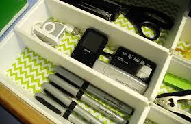 chevron stripes drawer closeup
