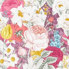 Free Floral Backgrounds Elegant Retro Painted Floral Background Vector Material Retro