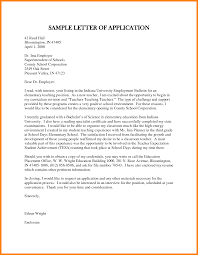 Applying For Teaching Position Cover Letter Lezincdc Com