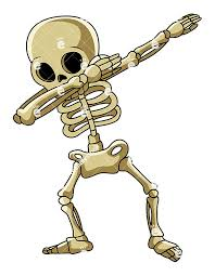 Image result for dabbing skeleton