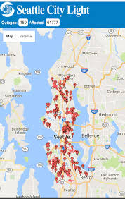 seattle power outage map  seattlewa