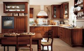 Image Of: Traditional Wooden Small Rustic Kitchen Designs