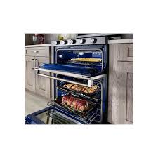 kitchenaid 30 double oven freestanding electric range kitchen