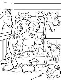Small Picture Free Printable Nativity Scene Coloring Pages Aquadisocom