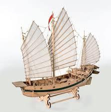 amati chinese pirate junk wooden model boat kit