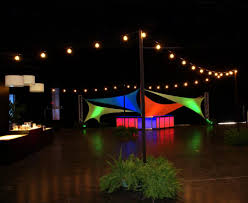 image of outdoor strand lights