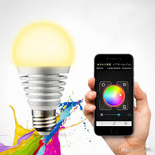 iphone controlled lighting. Lixada Bluetooth Led Rgb Smart Bulb Light E27 Smartphone Controlled Dimmable Color Changing Lamp For Iphone \u0026 Ipad Android 3w Lighting L