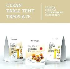 Table Tent Template Publisher Table Tent Template Phrase Word Card Free Publisher 2010 For