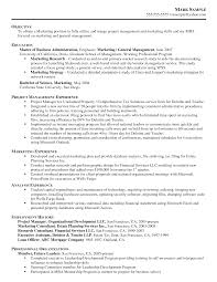 Resume For Degree In Business Administration Sales
