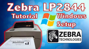 Zebra Designer Tlp 2844 Free Download How To Setup And Install Zebra Lp2844 Printer On Windows 10 4x6 Works For Any Zebra Printer
