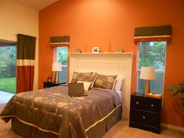 Orange Color For Bedroom Bedroom Living Room Ideas Boys Creative Headboard With Orange