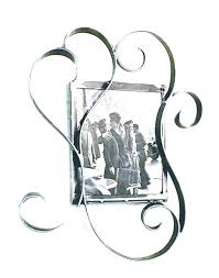handcrafted wrought iron photo frame hotel picture frames black metal contemporary art love wedding unique