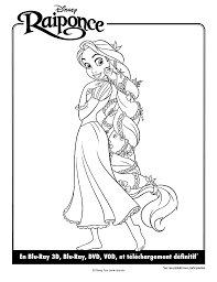 Coloriage Princesse Raiponce Imprimer Le Coloriage Chateau