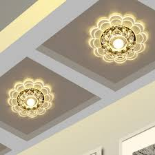 warm light flush mount ceiling lights