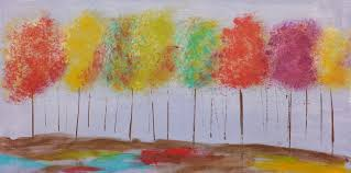 easy tree painting kids art project