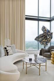 elevated 8m high ceilings and sprawling vistas attracted owners whitney casey and nav sooch to this 370m² austin texas apartment
