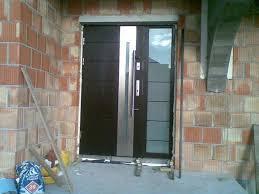 Keeping the Metal Exterior Doors | Latest Door & Stair Design