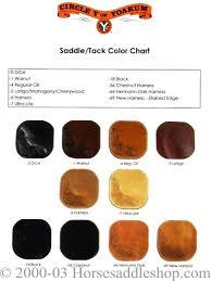 Leather Color Comparison Chart