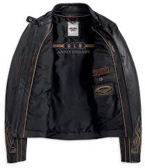 harley davidson 110th anniversary limited leather jacket