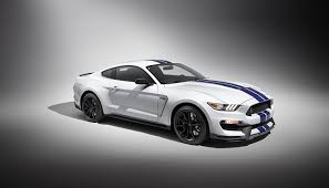 Photo Ford Tuning 2015 Mustang Shelby GT350 White Cars