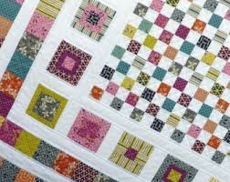 Handmade Modern Quilts and Quilt Patterns by redpepperquilts & Bricks and Stones Quilt Pattern - PDF file by Red Pepper Quilts - immediate  download Adamdwight.com