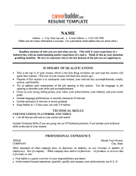 Blank Printable Resumes 25 Printable Resume Template Forms Fillable Samples In Pdf