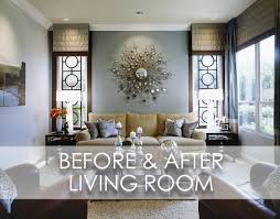 Beach Living Rooms Beach Inspired Modern Living Room Before And After