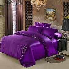 silver bedding sets queen mm seamless heavy silk satin bedding set mulberry silk king queen ivory purple beige black