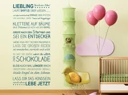 Wandtattoo Sprüche Fürs Kinderzimmer Bei Homestickerde Kinder