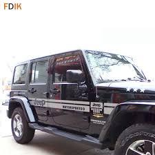 large black grey body sticker decal vinyl decal for jeep wrangler p patriot 4door