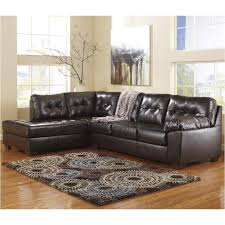 Ashley Furniture Alliston Durablend Chocolate Raf Sofa