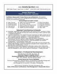 Resume Template Free Word Unique How To List Supervisory Experience
