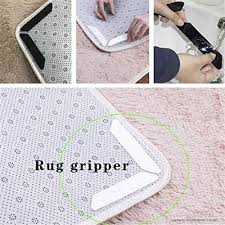dayoly 16 pcs carpet sticky pads reusuable anti slip rug grips rug gripper for wooden floors